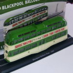 Atlas edition Trams of the World Blackpool Balloon Tram  1:76 @SOLD@